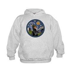 Starry Night Doberman (#1) Hoodie