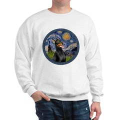 Starry Night Doberman (#1) Sweatshirt