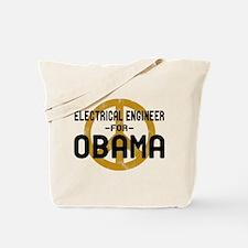 EE for Obama Tote Bag