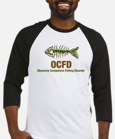 OCFD Obsessive Fishing Baseball Jersey