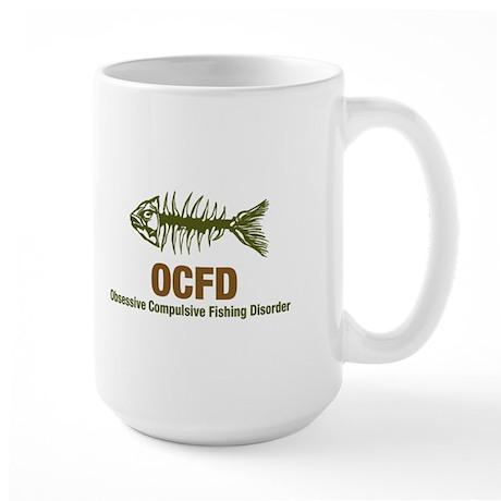 OCFD Obsessive Fishing Large Mug