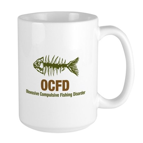 OCFD Obsessive Fishing Large Mug