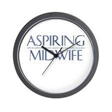 Wall Clock for Aspiring Midwives