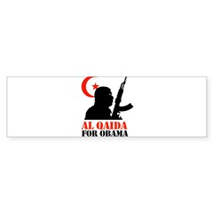 Al Qaida for Obama Bumper Bumper Sticker
