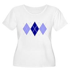 Argyle Blues Triple T-Shirt