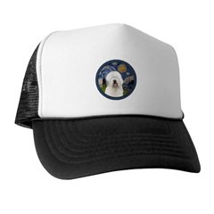 Starry Old English (#3) Trucker Hat