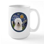 Starry Old English (#3) Large Mug