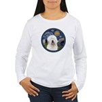 Starry Old English (#3) Women's Long Sleeve T-Shir