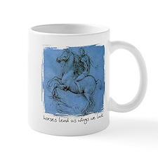 Horses Lend Us Wings - Mug