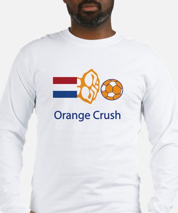"Whooligan Netherlands ""Orange Crush"" Long Sleeve T"