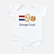 "Whooligan Netherlands ""Orange Crush"" Infant Bodysu"