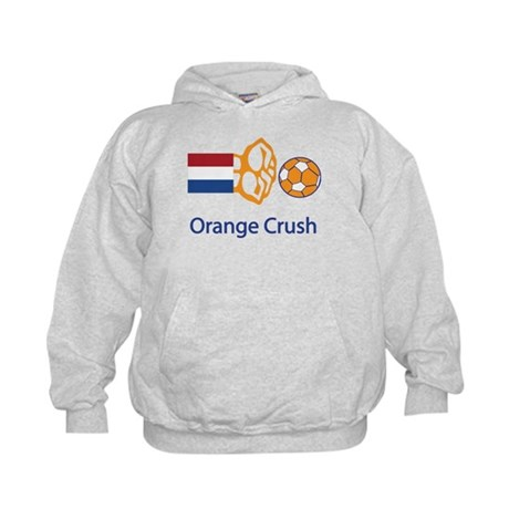 "Whooligan Netherlands ""Orange Crush"" Kids Hoodie"