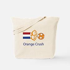 "Whooligan Netherlands ""Orange Crush"" Tote Bag"