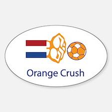 "Whooligan Netherlands ""Orange Crush"" Decal"