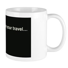 Penn Central Railroad Travel Logo Mug