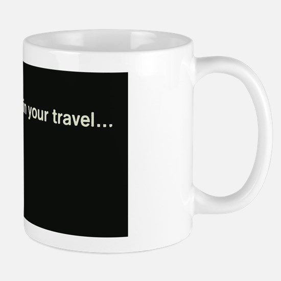 Penn Central Railroad Travel Logo Mug
