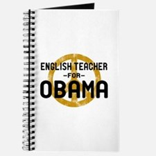 English Tchr for Obama Journal