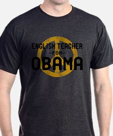 English Tchr for Obama T-Shirt