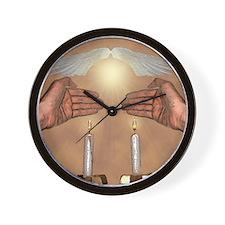 The Lights of the Sabbath Wall Clock