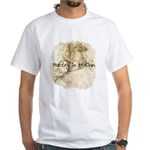 Poetry in Motion - White T-Shirt