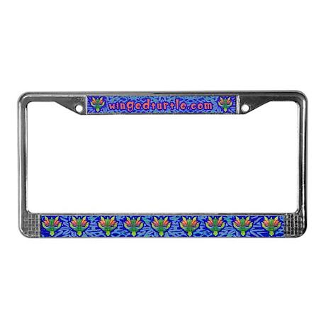 Flying Turtle License Plate Frame