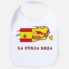 """Whooligan Spain """"La Furia Roja"""" Bib"""