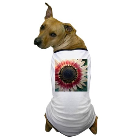 Red Sunflower Painting Dog T-Shirt