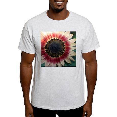 Red Sunflower Painting Light T-Shirt