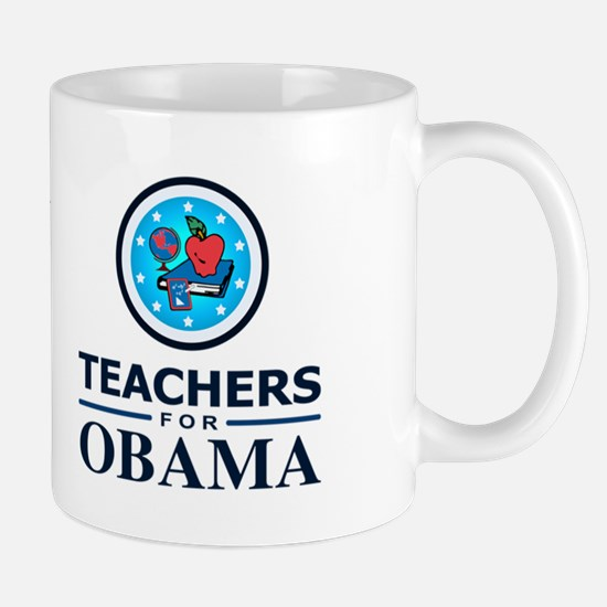 Teachers for Obama Mug