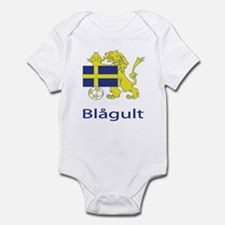 "Whooligan Sweden ""Blue-Yellows"" Infant Bodysuit"