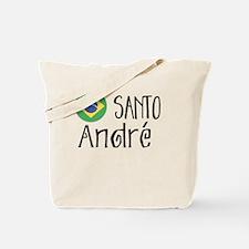 Funny Brazil santos Tote Bag