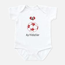 "Whooligan Turkey ""Crescent Stars"" Infant Bodysuit"