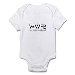 Who Would He Blame Infant Bodysuit