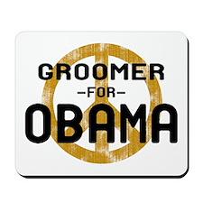 Groomer for Obama Mousepad