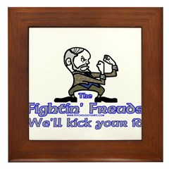Mascot Kick Your Id Framed Tile