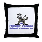 Mascot Undefeated Throw Pillow