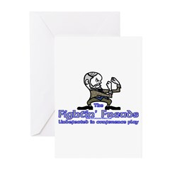 Mascot Undefeated Greeting Cards (Pk of 10)