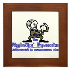 Mascot Undefeated Framed Tile