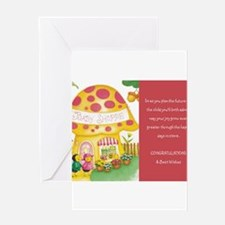 Cute Baby wish Greeting Card