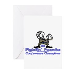 Mascot Conference Champions Greeting Cards (Pk of