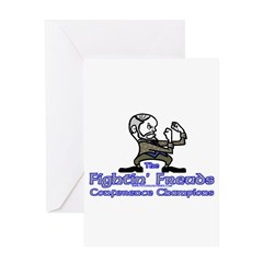 Mascot Conference Champions Greeting Card