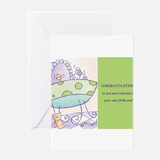 Unique Baby wish Greeting Card