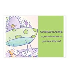 Funny Baby wish Postcards (Package of 8)