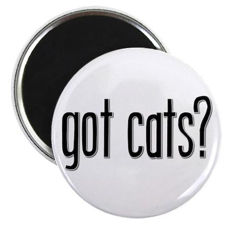 """Got Cats? 2.25"""" Magnet (10 pack)"""