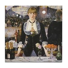 A Bar at the Folies-Bergère Tile Coaster