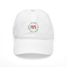 Pops Man Myth Legend Baseball Cap