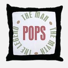 Pops Man Myth Legend Throw Pillow
