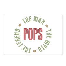 Pops Man Myth Legend Postcards (Package of 8)