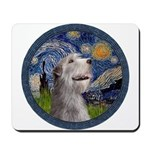 Starry Irish Wolfhound Mousepad