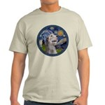 Starry Irish Wolfhound Light T-Shirt